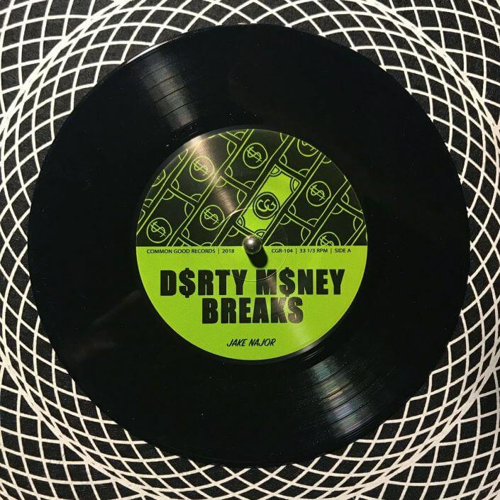 Jake Najor – Dirty Money Breaks 7″ / Digi Pack