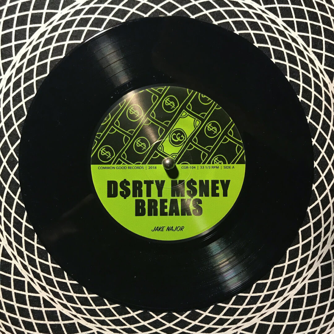 Jake Najor – Dirty Money Breaks 7″ / Digi Pack