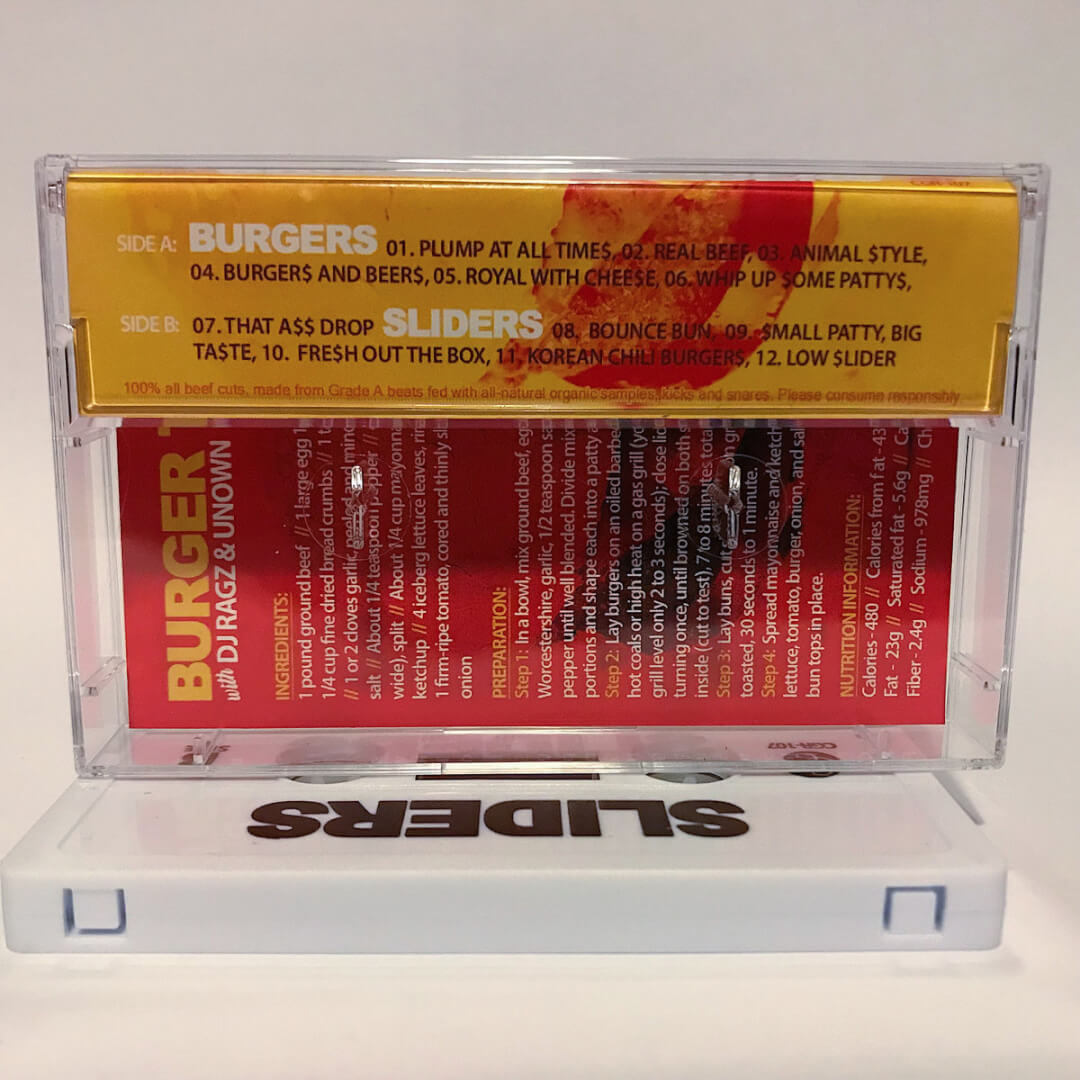 DJ Ragz & Unown: Burgers & Sliders Tape