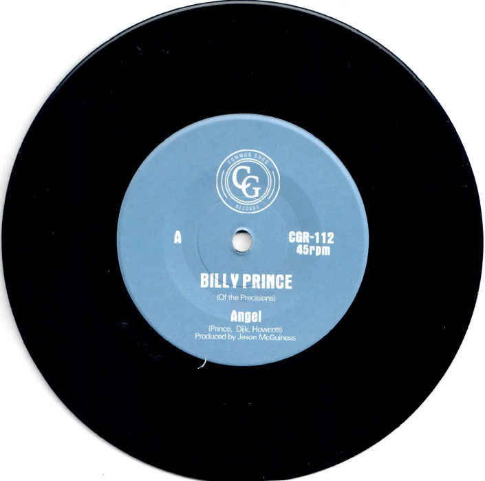 Billy Prince (Of The Precisions) – Angel / I Want You 7″